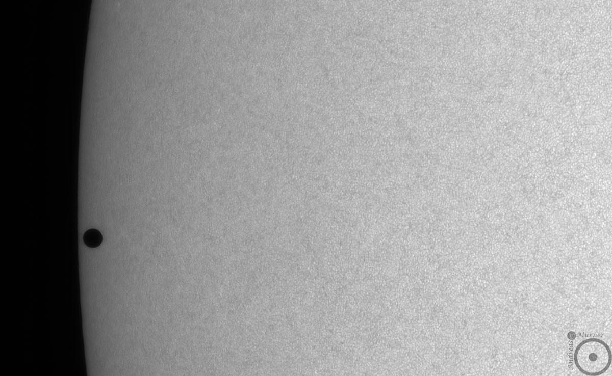 Anwendungsbild: Merkurtransit 2016 - Weißlicht mit Baader Herschelkeil