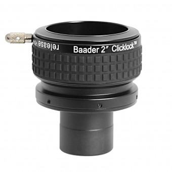 "Baader-ClickLock expansion-adapter from 1 ¼""´(and/or T-2 photo-thread) to 2"""