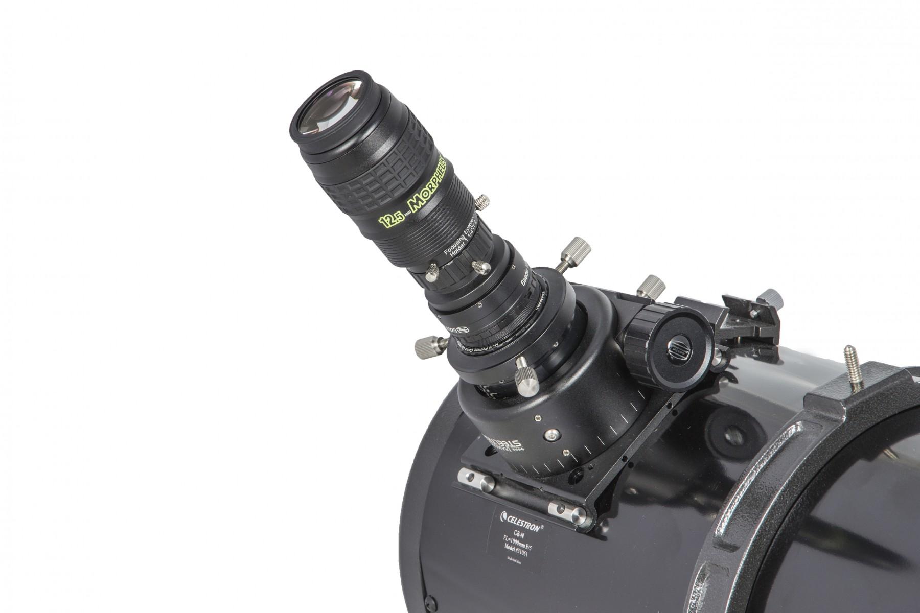 Anwendungsbild: MPCC V-1 Set  mit Morpheus Okular am Teleskop
