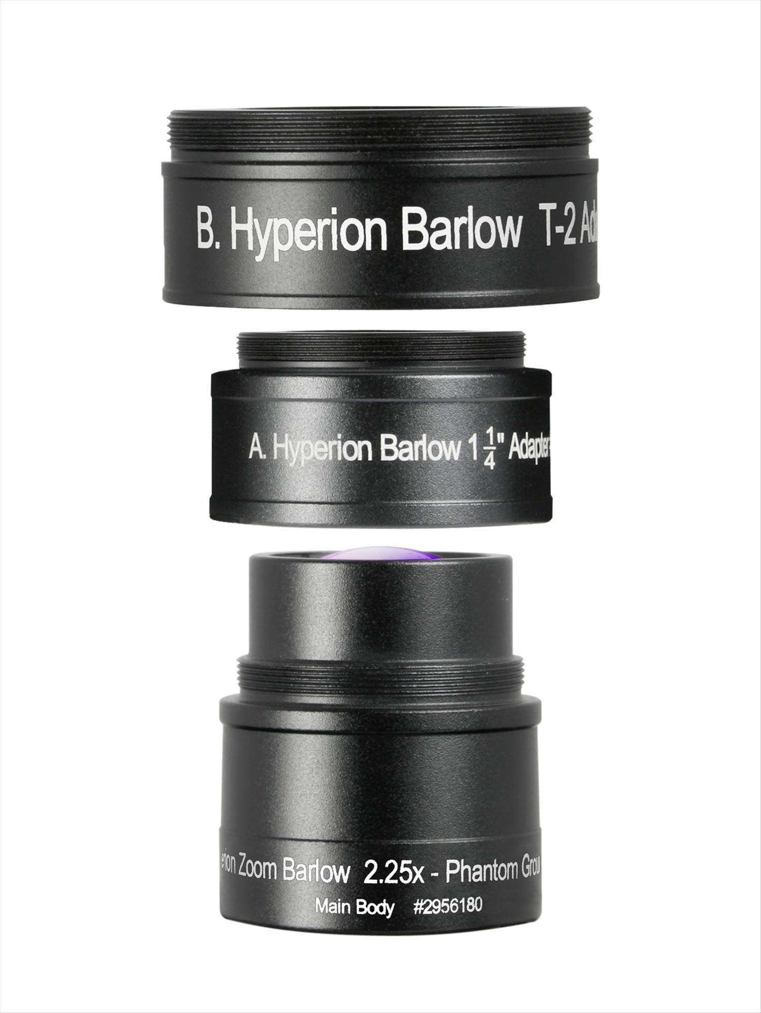 Hyperion Zoom Barlowlinse, 2.25-fach