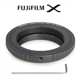 Wide-T-Ring Fuji X mit D52i auf T-2 und S52