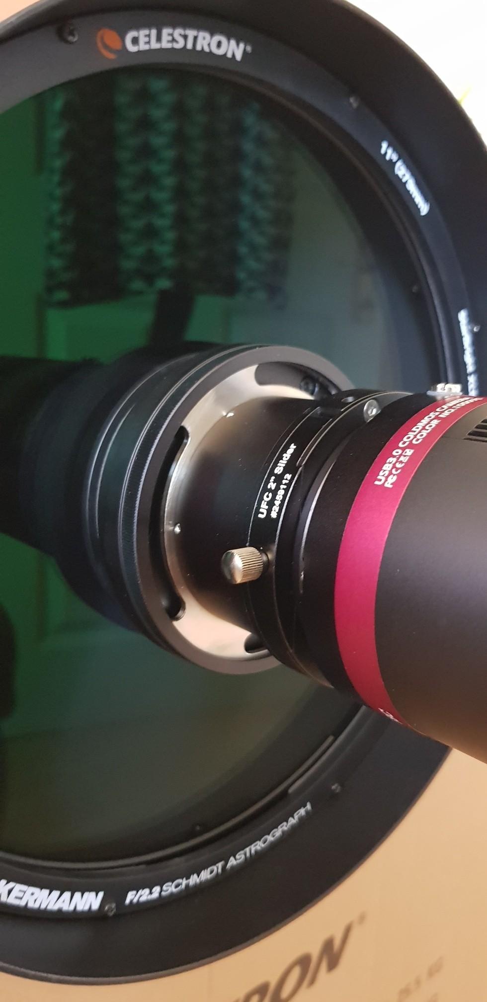 Anwendung: RASA, UFC und f/2 Highspeed-Filter