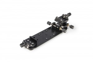"""Baader double-balancing plate-set with 3"""" plate, V-clamp and Stronghold"""