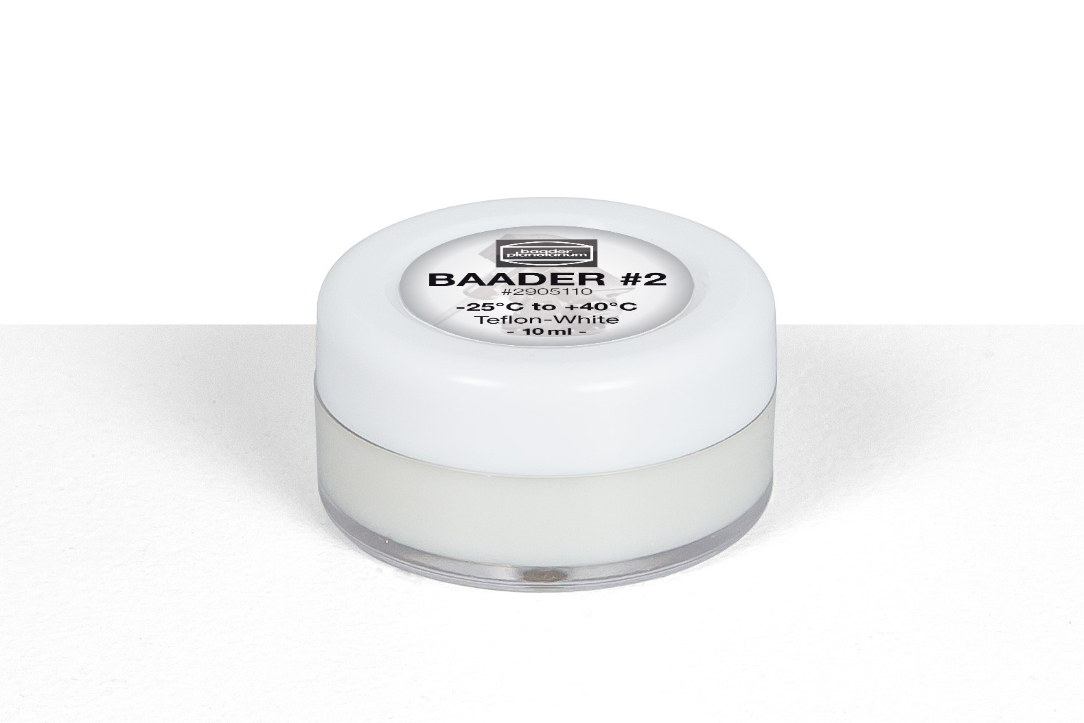 Baader-Fett #2 Teflon-Weiß (-25°C–+40°C)