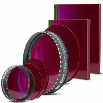 Ultra Narrowband S-II CCD-Filter (4,5nm)