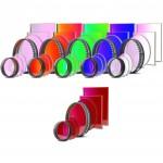 CCD Komplettfiltersatz I (L-RGB-C / H-alpha 7nm)