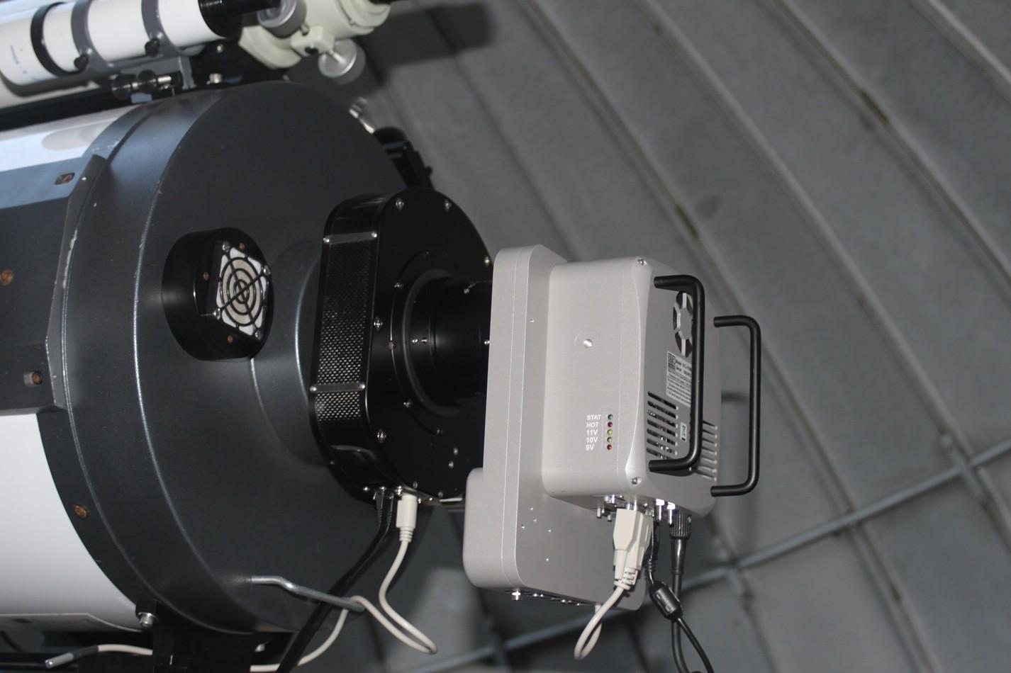"""Anwendungsbild: Optec Gemini mit STL11000 und Meade 16"""""""