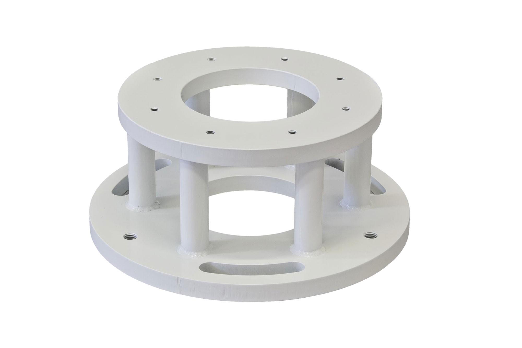 Baader Heavy Pillar (BHP) Nivellierflansch für GM 3000 Montierung, Höhe 15 cm