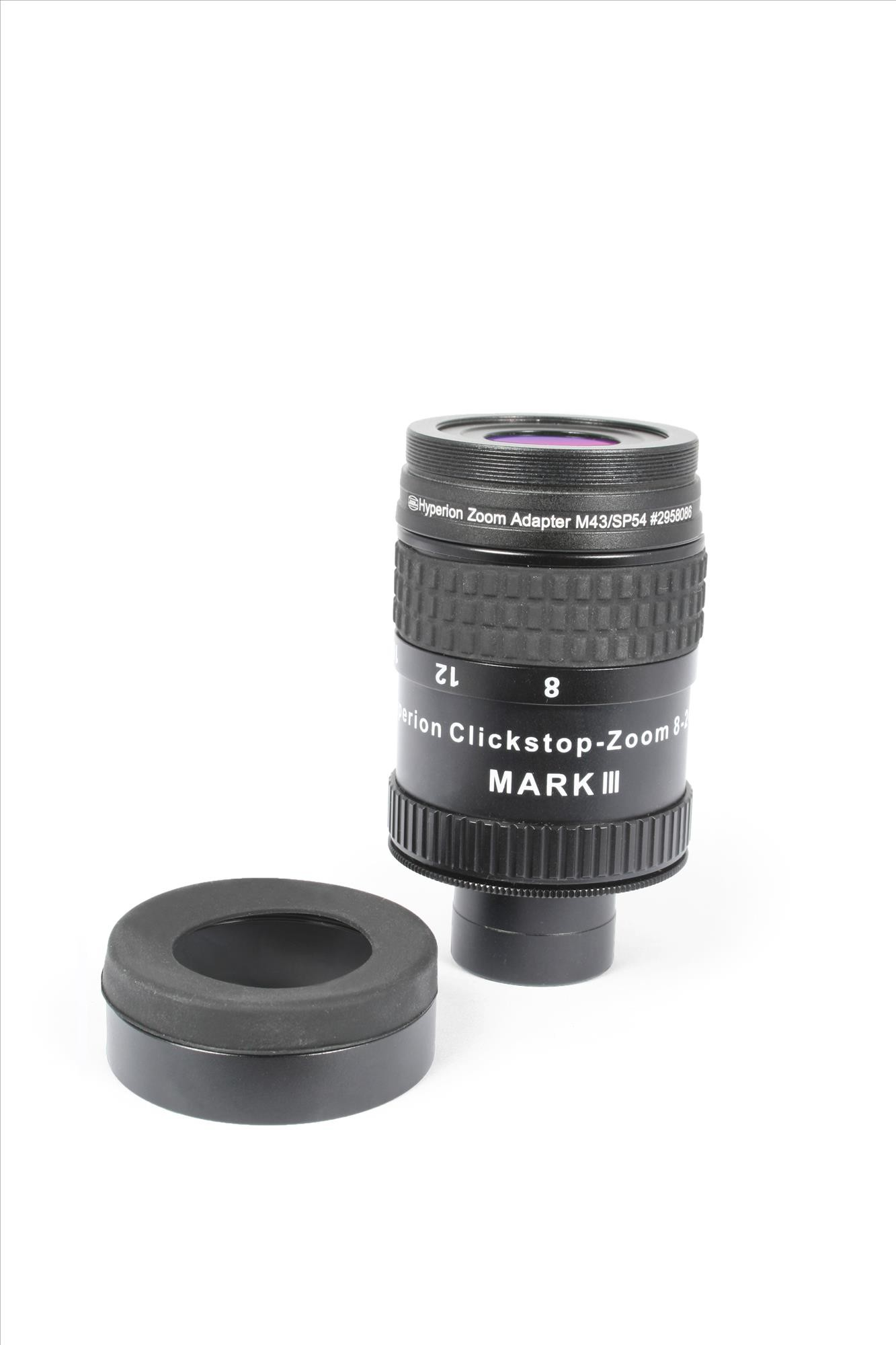 Application Image: Shows discontinued Mark III Zoom, works also with Mark IV Zoom