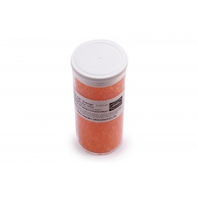 Silica Gel, orange with coloured indicator, reusable, 125ccm