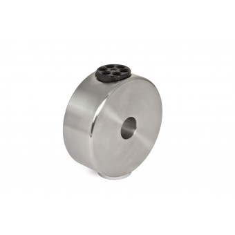 """6kg CDP-counterweight for GM 1000 stainless steel (V2A), incl. 1/4"""" photo thread"""