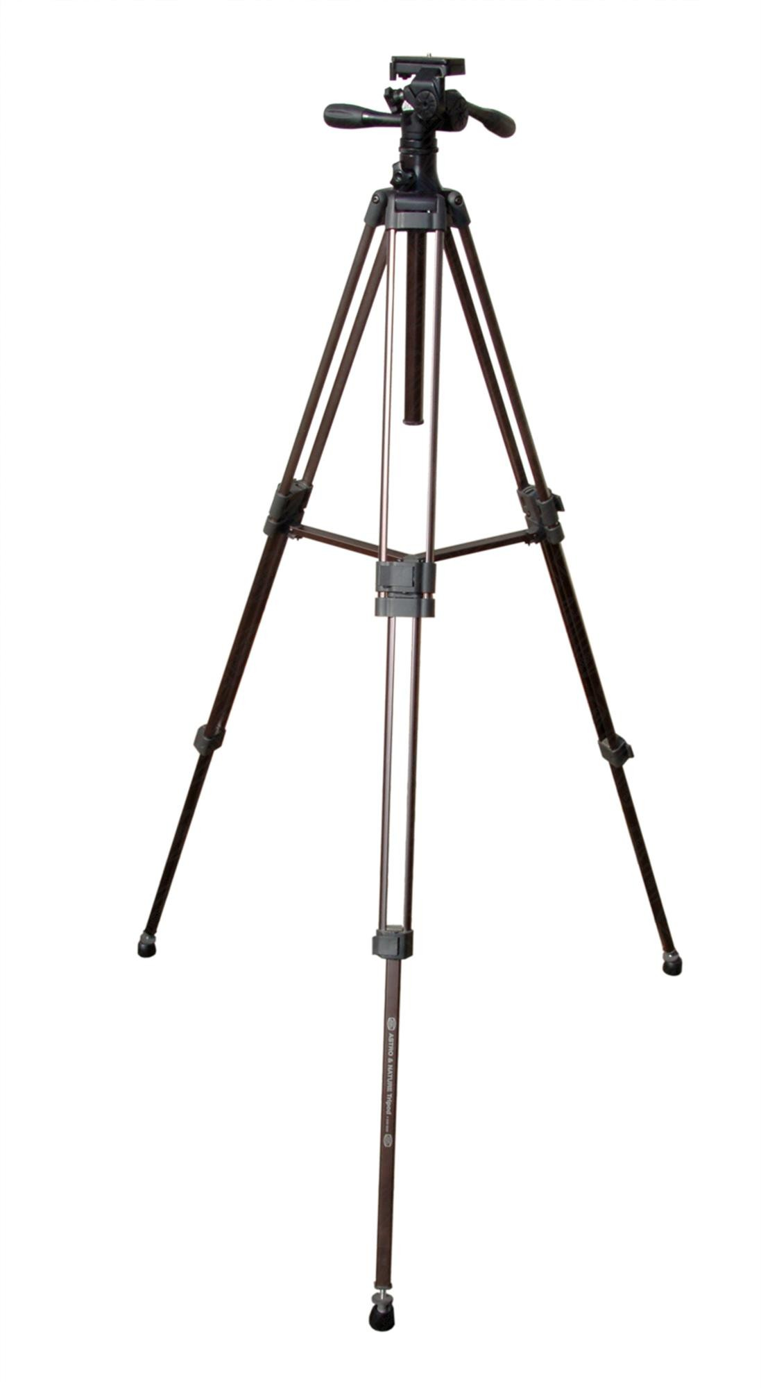 Astro & Nature Tripod w. Fluid Head and quick mounting plate
