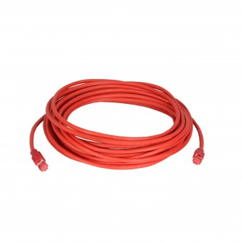 Network Cable (red) with ColdTemp-specified CAT-7 wire – available in 3,  5, 15, 30 Meter
