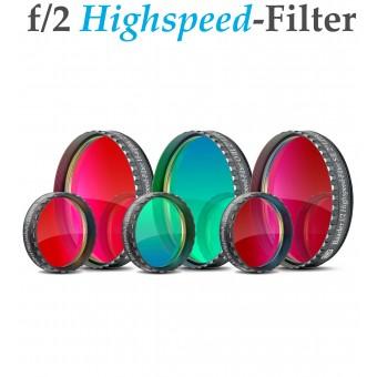 Baader f/2 Highspeed-Filterset H-alpha / OIII / SII