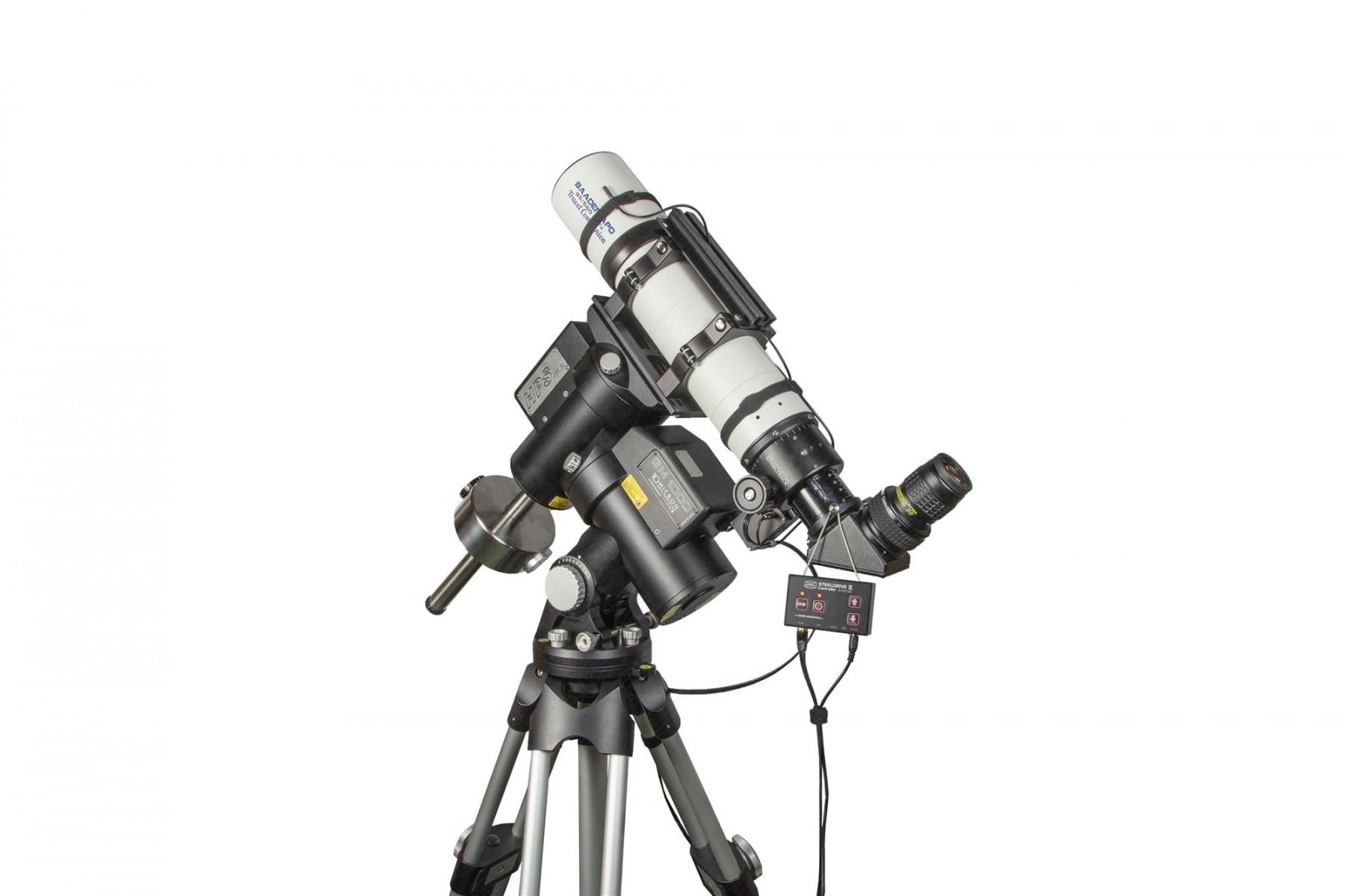 Anwendungsbild: Baader APO mit Steeldrive II Motorfukussierer und Morpheus Okular