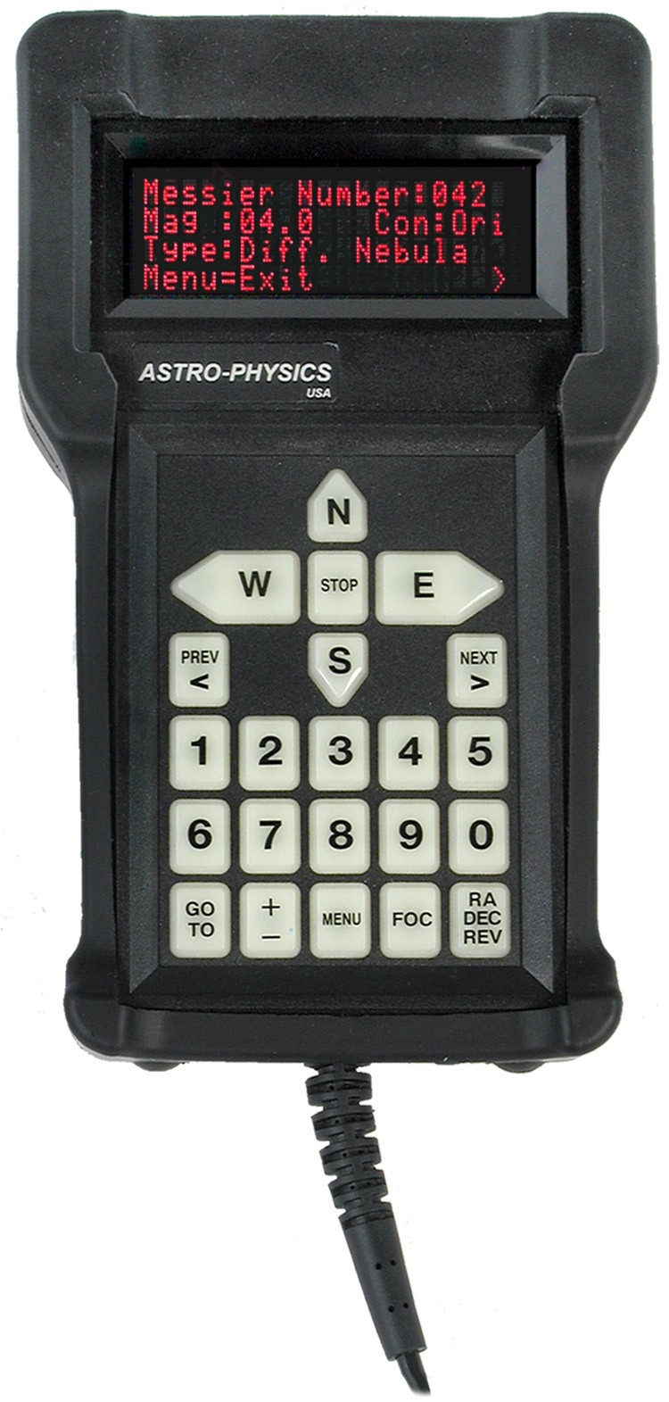 Astro-Physics GTO Keypad with Keypad Protector for all GTO-Mounts (optional)