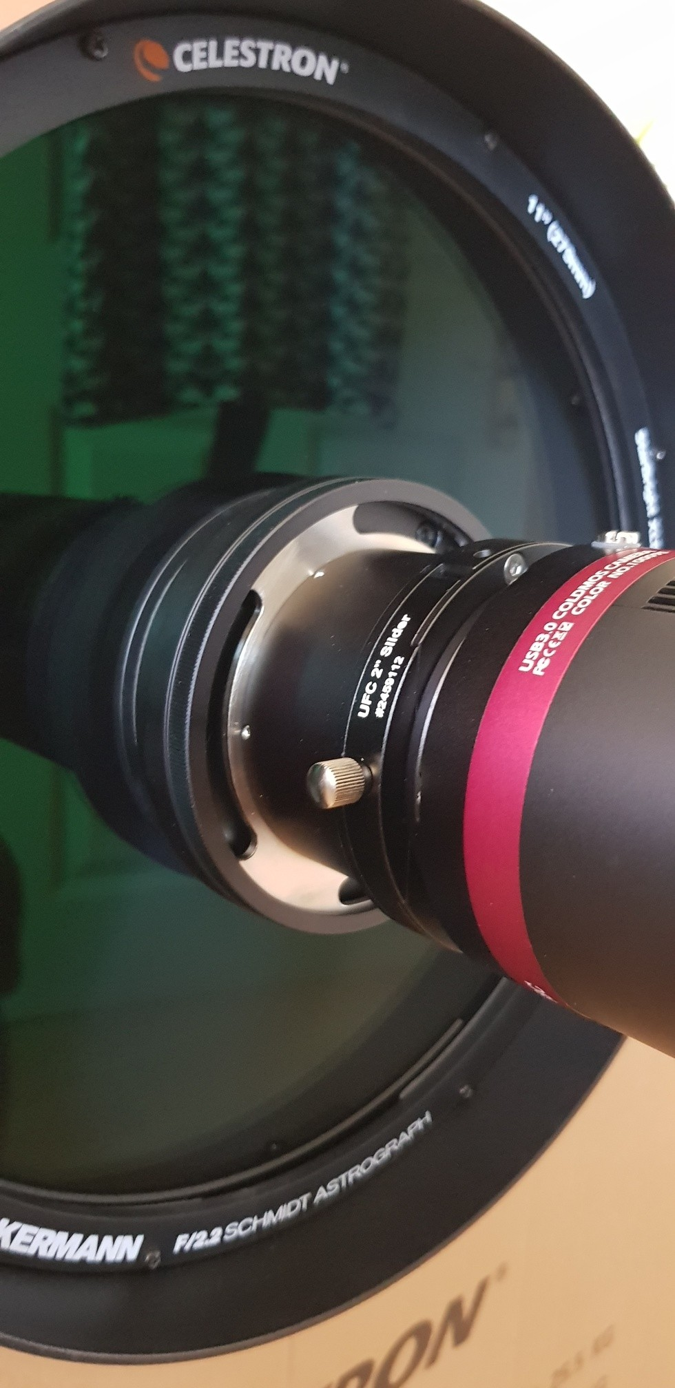 Application: RASA, UFC and f/2 Highspeed-Filter