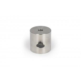 2,5 kg Tariergewicht Ø 75x75mm, aus rostfreiem Stahl