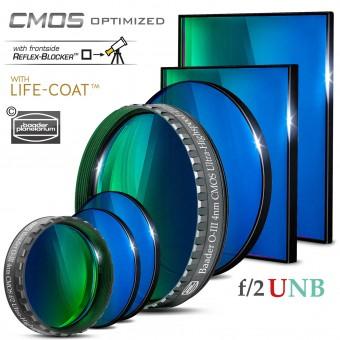 Baader O-III f/2 Ultra-Highspeed-Filters (4nm) – CMOS-optimized