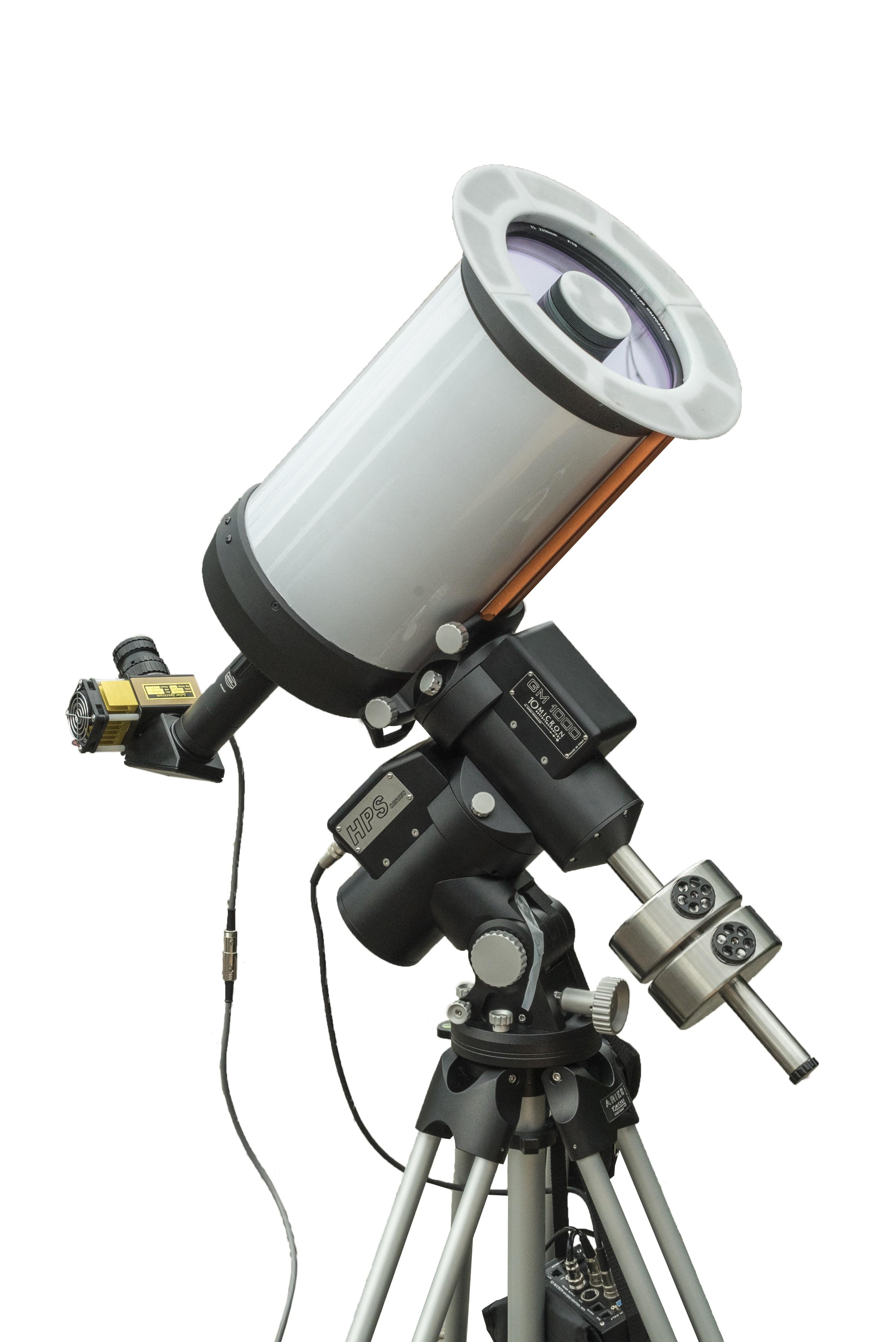 Triband-SCT - Schmidt-Cassegrain-based Multi-Purpose-Telescope, for Sun and Deep Sky