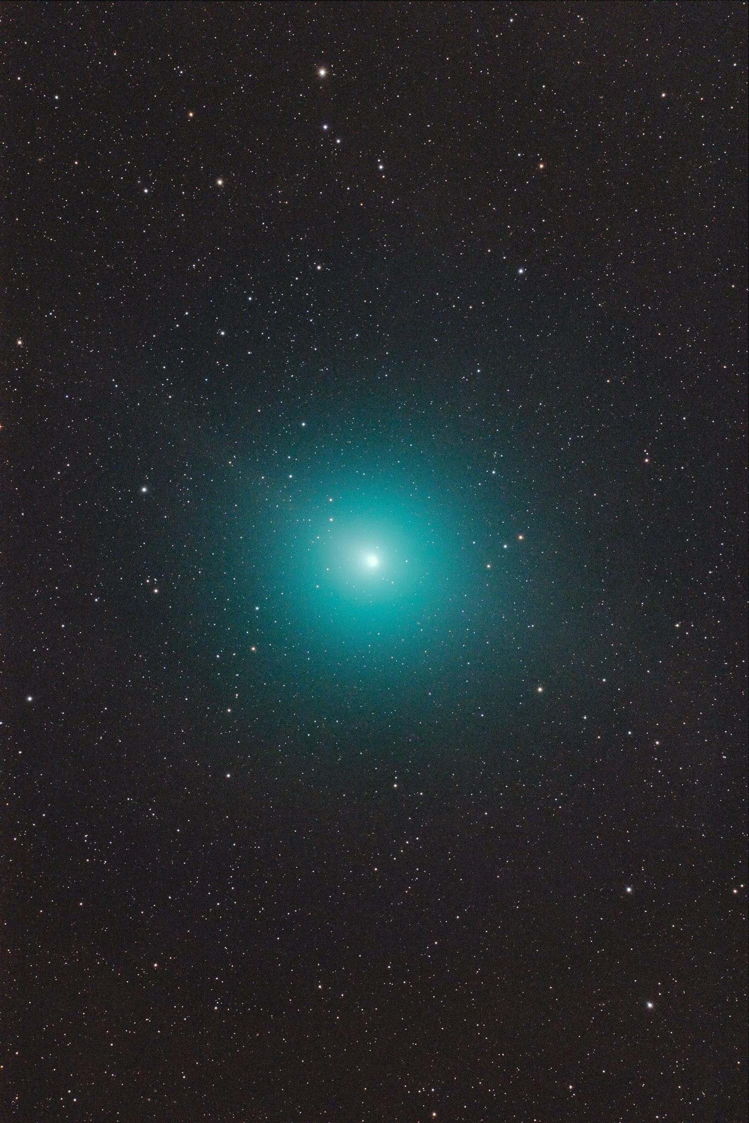 Anwendungsbild: Komet 46P/Wirtanen mit dem Baader Apo95 + D810A und volles VOLLFORMAT Gesichtsfeld! von C. Kaltseis