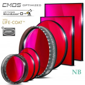 H-alpha Narrowband-Filter (6.5nm) – CMOS-optimiert
