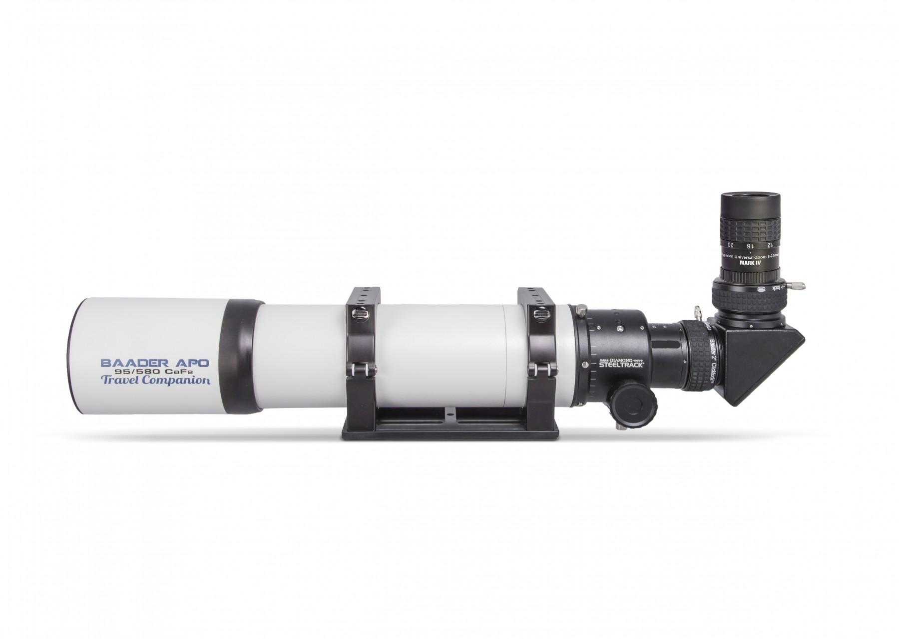 Anwendungsbild: Baader APO mit S58 ClickLock, BBHS Zenitspiegel und Hyperion Universal Zoom Mark IV Okular