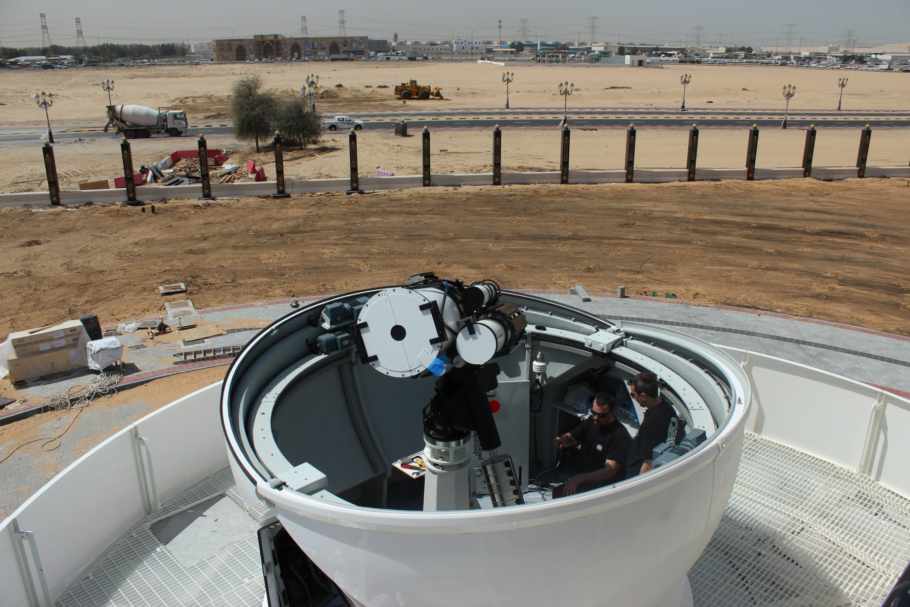 Application image: PlaneWave CDK 17, in Sharjah, UAE