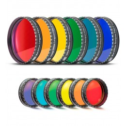 Farbfiltersatz für Mond- und Planetenbeobachtung (6 Farben)