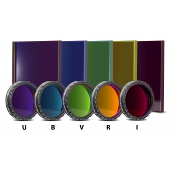 Baader UBVRI Photometric Filterset (4mm Glass)