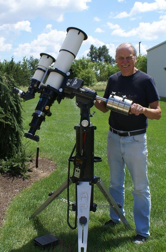 Anwendung: Roland Christen mit AP 130mm GTX Refraktor