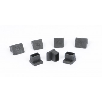 Protective cap set RJ11/RJ45 for telescope mount