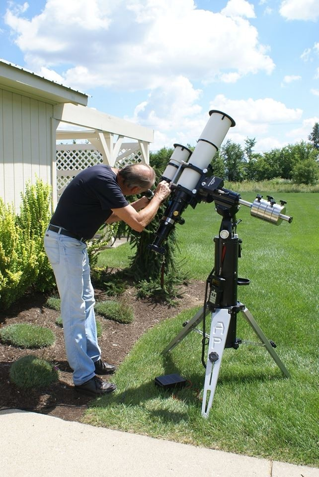 Application: Roland Christen with AP 130mm GTX Refractor