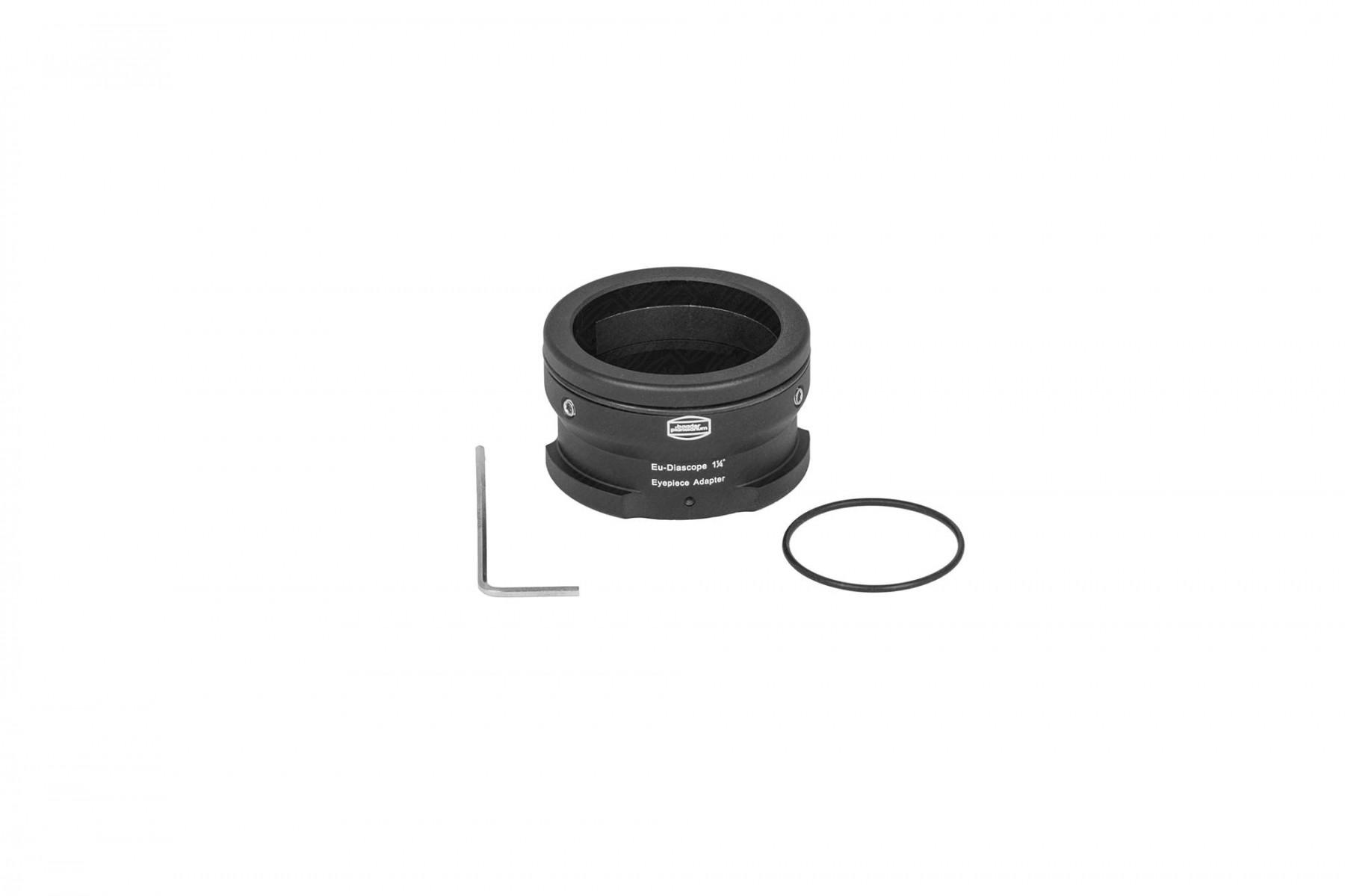 Lieferumfang: Classic Ortho 6mm und Hyperion Zoom Barlow (nicht abgebildet) Zeiss Diascope Okularbajonett, Inbusschlüssel, 2x O-Ringe (1x montiert)
