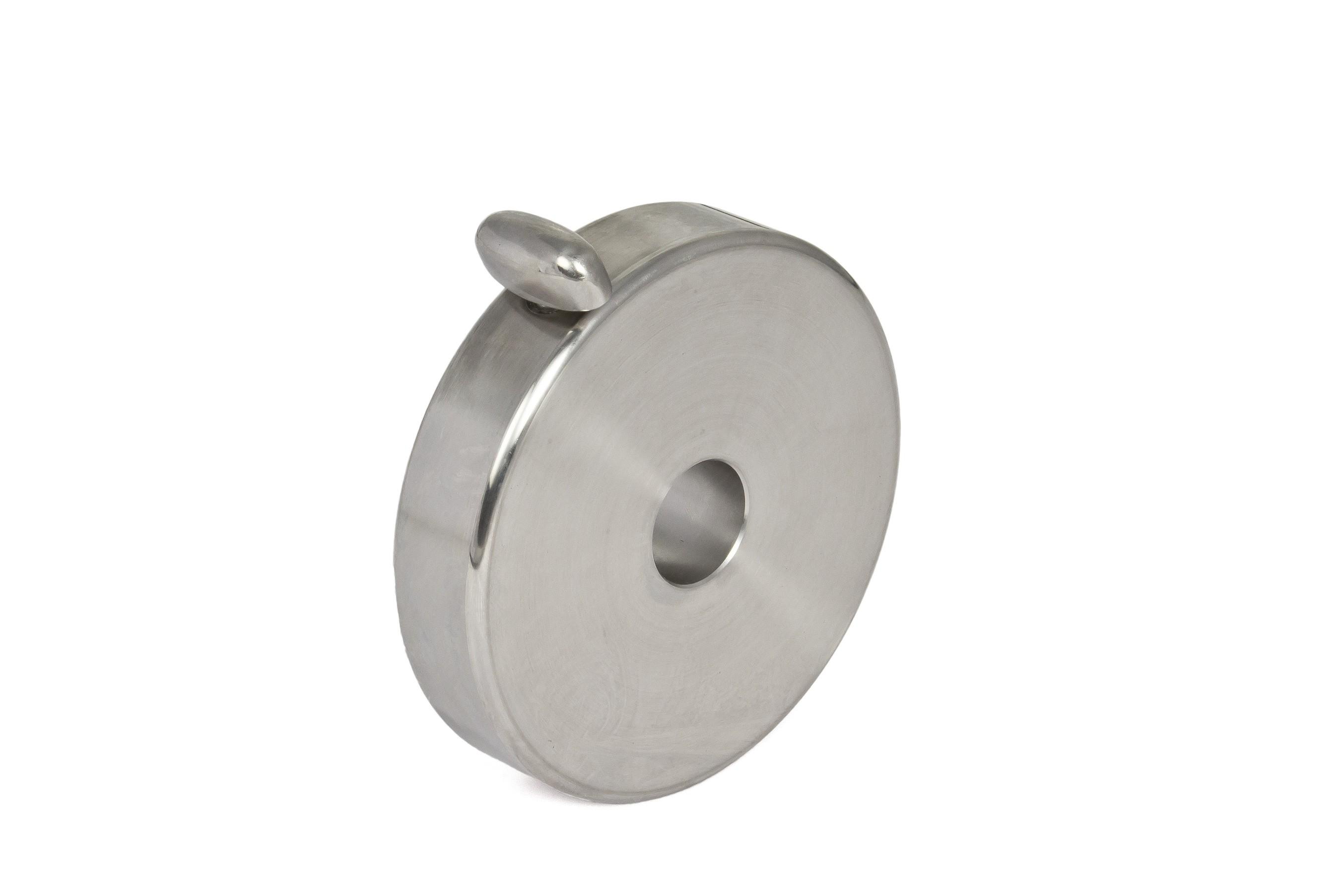 3kg Gegengewicht für 10Micron GM1000 aus V2A-Stahl