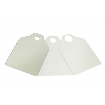Solar Shade with drilled hole T-2