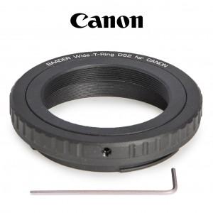 Wide-T-Ring Canon mit D52i auf T-2 und S52