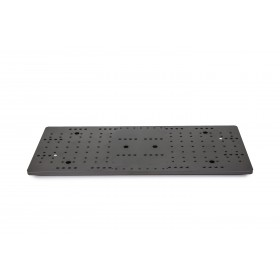 "Baader heavy-duty 8"" double mounting plate, for up to 100kg"