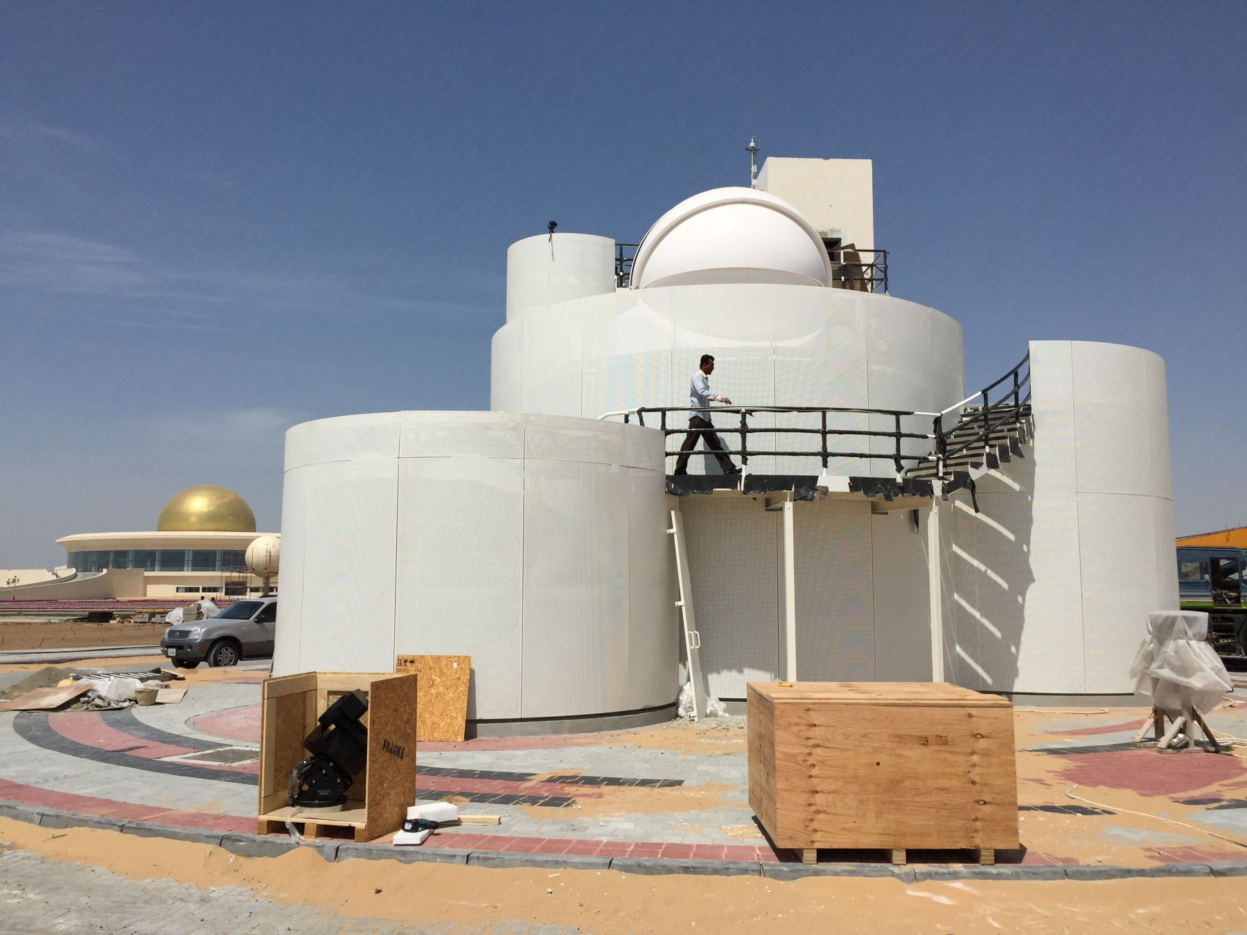 4.5m Schlüsselfertige Sternwarte (AllSky) in Sharjah, Vereinigte Arabische Emirate