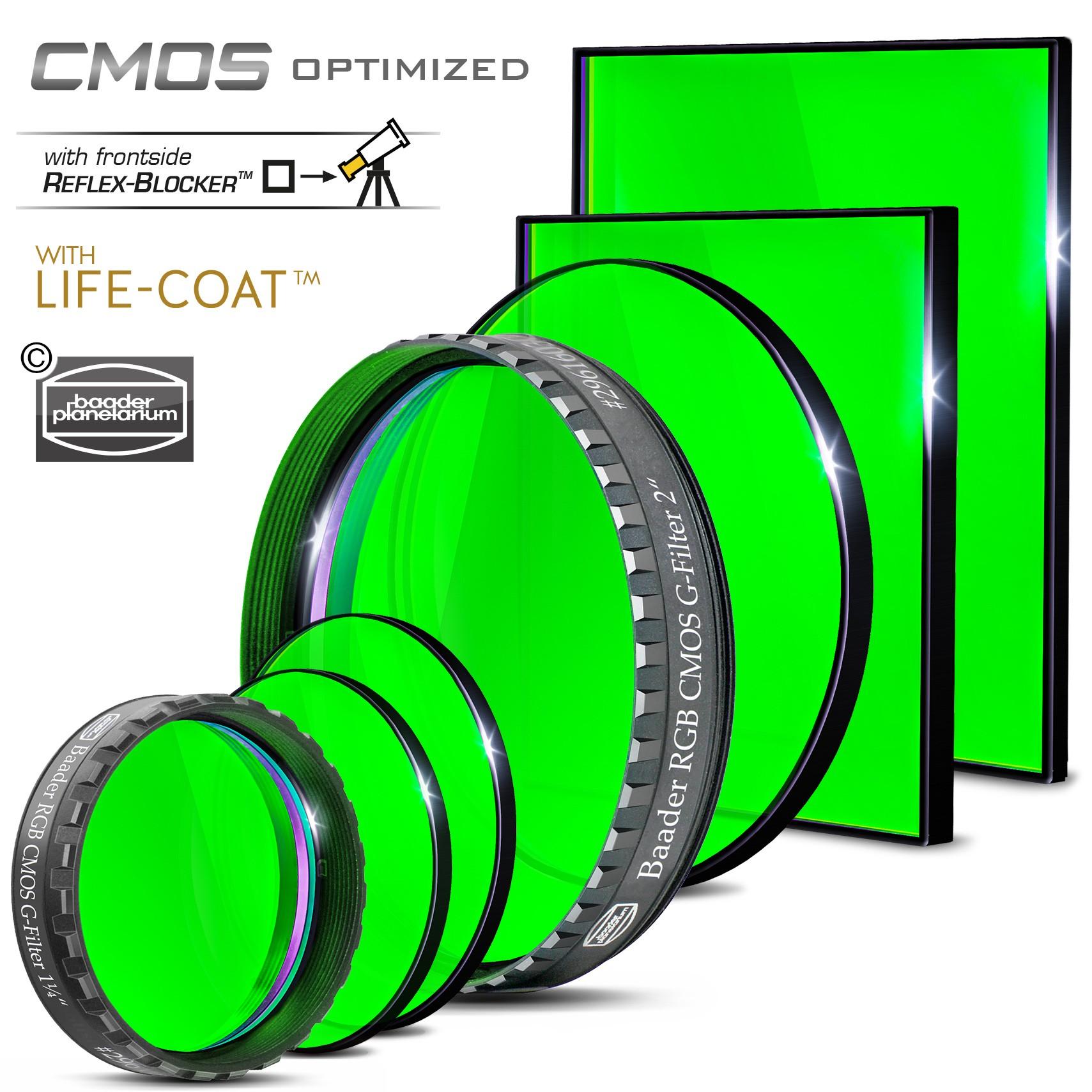 "Baader RGB G-Filter 1¼"" – CMOS-optimized"