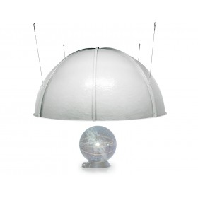 Projection dome (2,5 to 3.5 Meter, larger sizes on request)