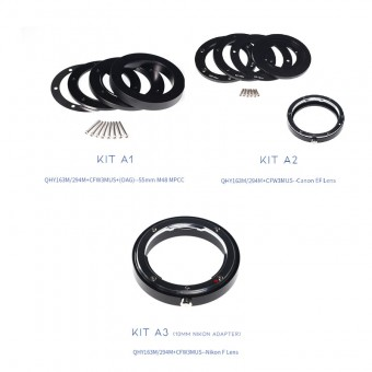 QHY Adapter-Kits A for QHY 294M / QHY 163M