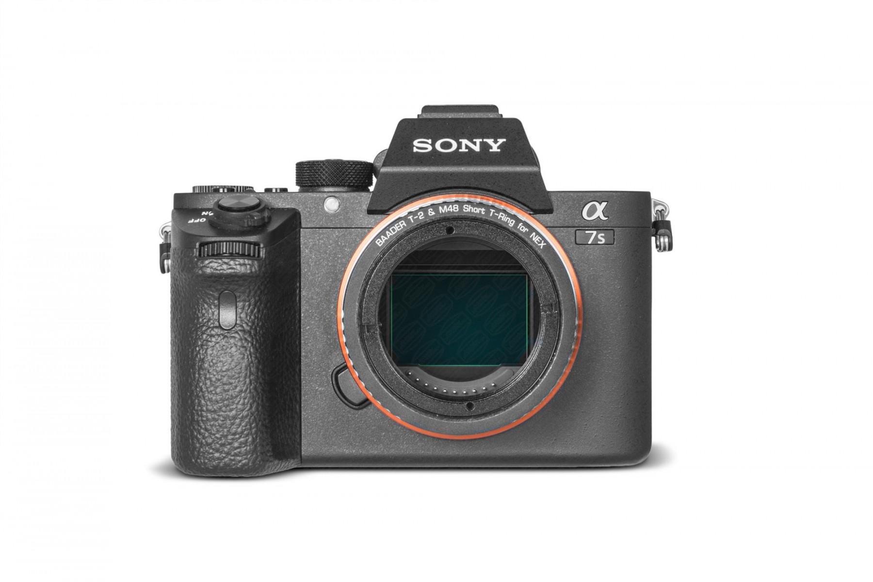 Anwendungsbild: Sony E/NEX T-Ring mit T-2 Innengewinde