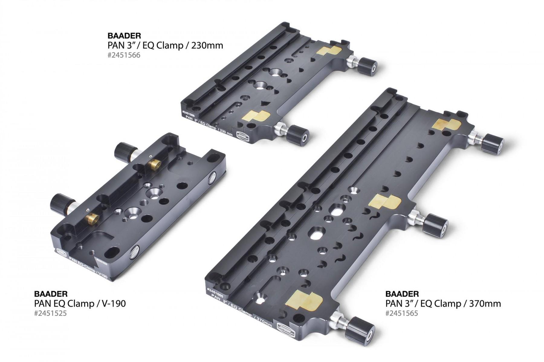 Kombinationsbild: PanEQ 190, 230, 370mm