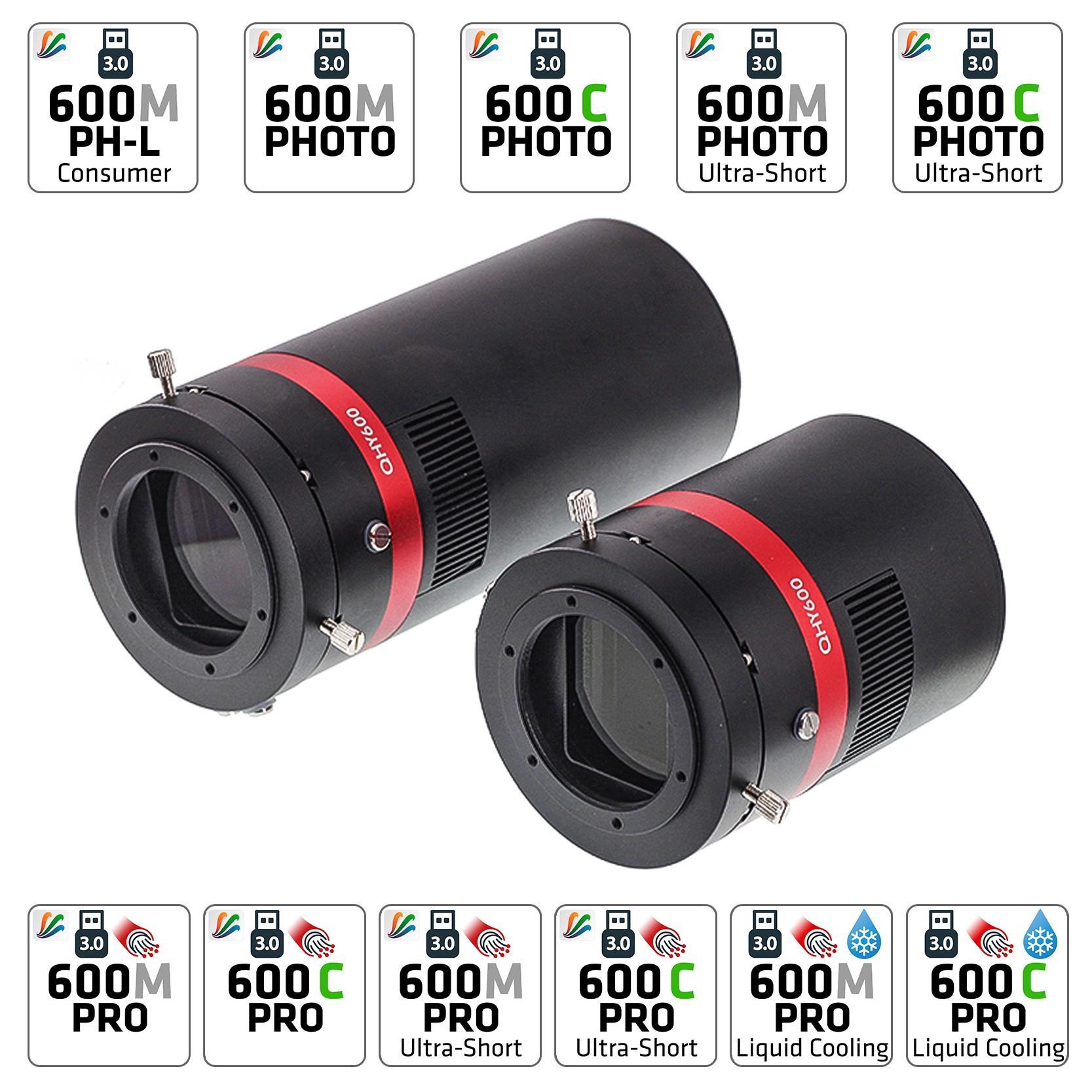 QHY 600 M/C BSI Cooled Kameras