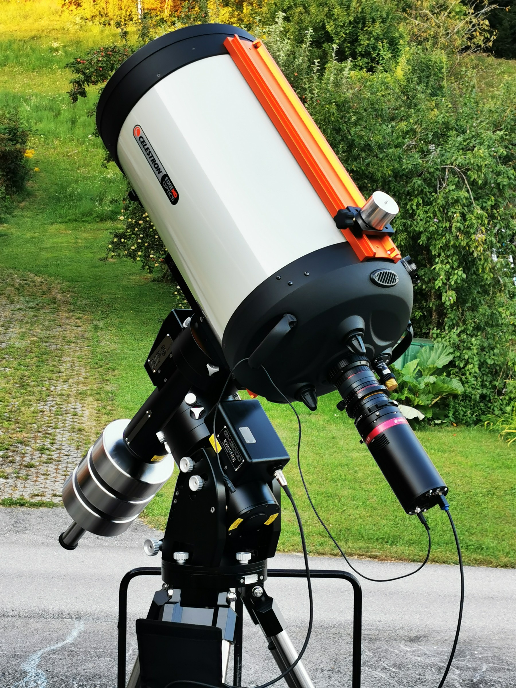 Application image: Celestron C11 EdgeHD with QHY600 PRO