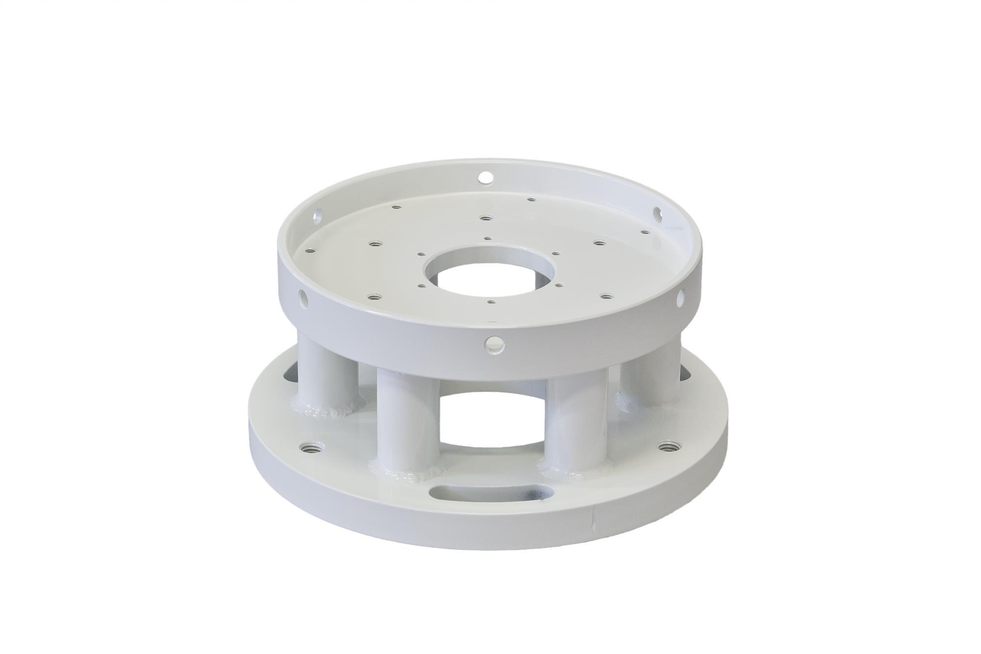 Baader Medium Pillar (BMP) Nivellierflansch für GM 2000 und AP 1100/900 GTO Montierungen