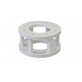 Baader Stahl-Nivellierflansch  für PlaneWave L-500/600 Montierungen, Höhe 15 cm