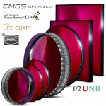 Baader S-II f/2 Ultra-Highspeed-Filters (4nm) – CMOS-optimized
