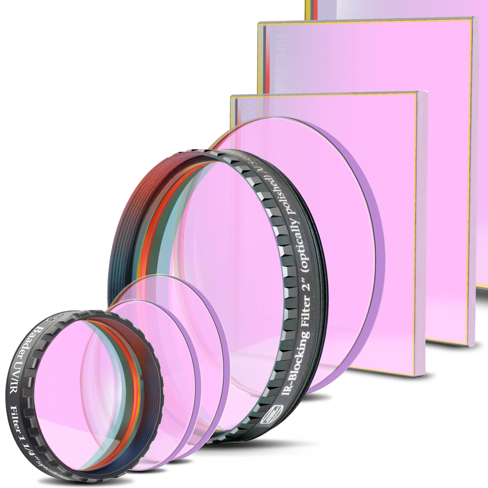UV/IR Sperr-/ L-Filter